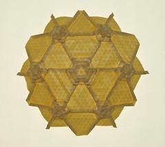 Kathmandu tessellation (mganans) Tags: origami tessellation