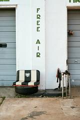 Pit Stop (terrylw64) Tags: freeair lonoke arkansas usa nikon z7 seat sign lettering captureone tire racingflags