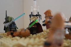 Order 66 On Tatooine. (LukeTheDuke424) Tags: lego toy build moc sec star wars clone jedi order 66 dark times
