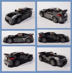 FF3 DK's 2003 Nissan Fairlady Z33 (collage) (Iggy X) Tags: lego moc speed champions moviecar fast furious tokyo drift nissan fairlady z33