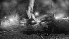 steam in the dark (journey ej) Tags: