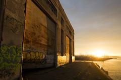 golden (eb78) Tags: ca california eastbay urbanexploration urbex ue abandoned decay sunrise warehouse