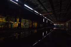 dark warehouse (eb78) Tags: ca california eastbay urbanexploration urbex ue abandoned decay warehouse