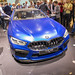IAA visitors taking pictures of the bluw BMW 8 Series Coupé M8 Competition