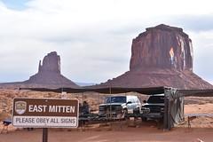 EAST MITTEN (SneakinDeacon) Tags: merrickbutte monumentvalley landscape scenicdrive bucketlist navajonation redrocks