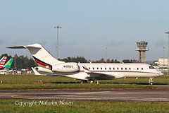 GLOBAL 6000 N155QS NETJETS (shanairpic) Tags: bizjet corporatejet executivejet shannon global6000 bombardier netjets n155qs