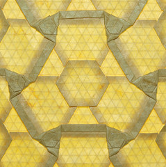 Tricorn tessellations (mganans) Tags: origami tessellation
