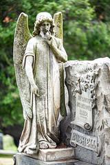 Mountain View Cemetery (Thomas Hawk) Tags: america anniebushell bayarea bushell california eastbay edwardbushell mountainviewcemetery northerncalifornia oakland sfbayarea usa unitedstates unitedstatesofamerica westcoast angel cemetery norcal sculpture