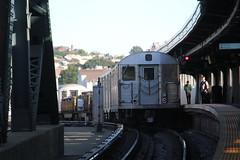 IMG_8206 (GojiMet86) Tags: mta ind nyc new york city subway train 1964 r32 3695 smith 9th streets