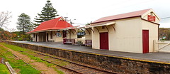 Port Elliot Railway Station (Darren Schiller) Tags: railway portelliot station australia abandoned architecture building closed community corrugatediron disused decaying deserted empty galvanisediron history heritage infrastructure old panorama rural rustic smalltown southaustralia transport