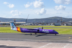 DHC Dash-8 G-PRPI Flybe 20190913 BelfastCity (steam60163) Tags: belfast belfastcityairport dhc dash8