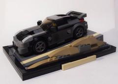 FF3 DK's 2003 Nissan Fairlady Z33 (Iggy X) Tags: lego moc speed champions moviecar fast furious tokyo drift nissan fairlady z33