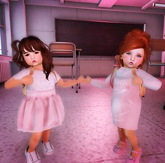 .Back To School. (Aww Cmon Puddin') Tags: second life secondlife crack den crackdensl sl roleplay blog blogger blogging slblog maitreya portrait love slroleplay family selfie