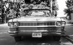Cadillac (neilsonabeel) Tags: nikonfm2 nikon 50mm blackandwhite film analogue car vehicle cadillac brooklyn newyorkcity street seriese