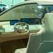 Autonomes Fahren im Elektroauto: Designer-Fahrersitz und Sitzbezüge mit Sensorfelder im Innenraum des E-BMW Vision iNext