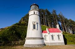 Heceta Head Lighthouse (Nick Boren Photography) Tags: heceta head lighthouse oregon coast ocean sea outdoors historical beacon fresnel lens nickborenphotography nikon digital photography