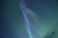 Look up....way up (Len Langevin) Tags: auroraborealis northernlights alberta canada night longexposure sky nikon d7100 tokina 1116