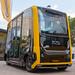 Fahrerloser Straßenverkehr und autonomes Fahren mit dem selbstfahrenden Elektro-Shuttle EasyMile, mit Continental