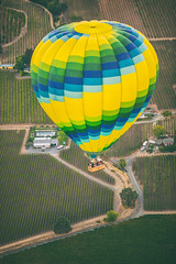 Last Shot for Two Lovers (Thomas Hawk) Tags: california napa napavalley usa unitedstates unitedstatesofamerica yountville balloning balloon hotairballoon hotairballooning fav10 fav25 fav50 fav100