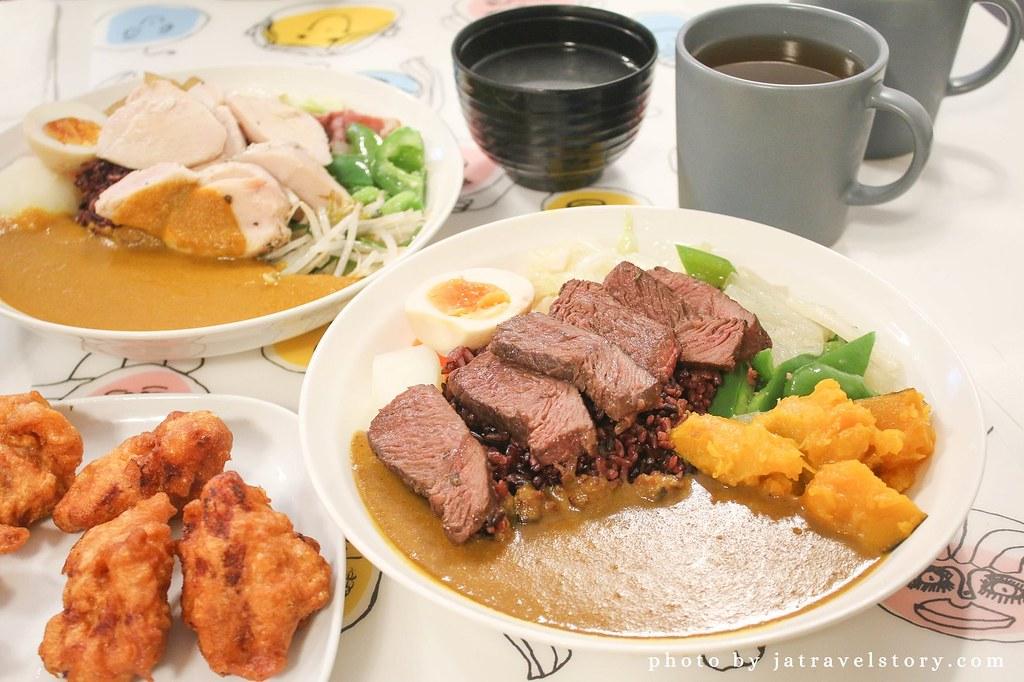 Gali 咖哩 平價大份量舒肥牛排咖哩只要155元,日式咖哩.印度咖哩.川味辣醬任你選【基隆美食】 @J&A的旅行