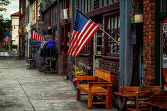 (Abel AP) Tags: town urban street niles nilesdistrict americanflags fremont california usa bayarea america sanfranciscobayarea northerncalifornia eastbay abelalcantarphotography