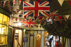 Yorkshire Museum, York (alisonhalliday) Tags: shops museum york flags unionjacks exhibit canoneos77d canonefs18135mm