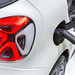 Electric mobility with city car Smart EQ fortwo, charging with type-2-connector