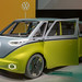Retro bus fully electric: VW ID.BUZZ prototype and show car at the IAA