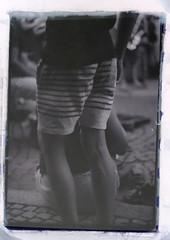 4.23 (Demetre C.) Tags: boy legs shorts stripes blackandwhite blackwhite filmphotography film 35mm helios442 zenit zenite