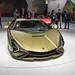 Limitierter Hybrid-Supersportwagen: Frontansicht / Motorhaube des Lamborghini Sián FKP 37