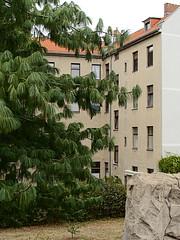 Buschkrug_e-m10_1019079130 (Torben*) Tags: rawtherapee olympusomdem10 olympusm25mmf18 berlin neukölln buschkrug spielplatz britz playground wohnhaus residentialbuilding baum tree