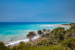 Shades of Blue (AlphaLibrae) Tags: sea seaside rhodes greece nature beach