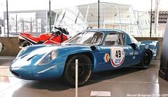 Alpine A211 V8 1967 (Wouter Bregman) Tags: alpine a211 v8 1967 alpinea211 renault autoworld 2019 museum musée jubelpark parc du cinquantenaire brussels bruxelles brussel belgium belgique belgië vintage old classic french car auto automobile voiture ancienne française france frankrijk vehicle indoor