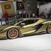 Lamborghini presents the sold-out hybrid sportscar Sián FKP 37 at German car show