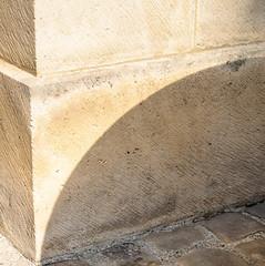 BrightCorner.jpg (Klaus Ressmann) Tags: klaus ressmann omd em1 abstract fparis france mahj summer wall corner design flcabsoth minimal shadows softtones squareformat klausressmann omdem1