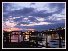 Sunset Reflections (bigbrowneyez) Tags: reflections ottawariver lights sunset sky sunsetreflections dof colourful twilight beautiful amazing striking delightful shiny glowing shimmering stunning gorgeous belissimo bello foto august2019 fabulous silhouettes ottawa canada clouds cielo nuvole luce fireworks