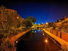 Peaceful early morning (ianclarke82) Tags: early morning night nightphotography longexposure mobilephotography huawei canal huddersfieldnarrowcanal stalybridge light water town bridge exploring commute greatermanchester greatbritain england