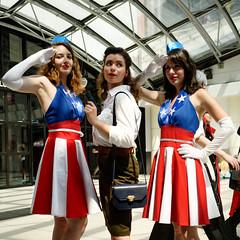 Captain America _ Peggy Carter_1 (Marie Cath) Tags: sonya7riii cosplay japanexpo2019 japanexpo avengers