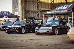 Players 2019 (smileysloth) Tags: airlift caraudiosecurity car e30 e30m3 porsche bmw players