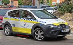 Policía Local de Algete (emergenciases) Tags: emergencias españa 112 comunidaddemadrid coche vehículo seguridad policía policíalocal policíalocalalgete algete patrulla seat seataltea altea