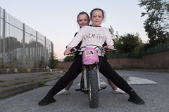 Libby and Leannah : Dubliners (Stoneybutter) Tags: dublin ireland motorbike odevaneygardens stoneybatter urban urbanireland irish dubliners