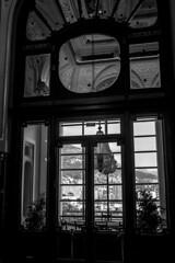 Monaco - Montecarlo - Casino (Marcial Bernabeu) Tags: marcial bernabeu bernabéu europe europa monaco mónaco casino montecarlo architecture arquitectura window ventana monocromo monochrome black white blanco negro bw marc