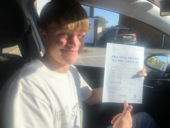 Massive congratulations  to Jack Gubbins passing his driving test on his first attempt!  www.leosdrivingschool.com  WARNING: Getting your license is a good achievement however being a SAFE driver for life is the biggest achievement!
