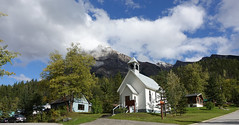 Church in Field, (D70) Tags: middle canadian rocky mountains yoho national park british columbia church built 1908 during summer months st josephs roman catholic field britishcolumbia canada