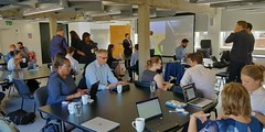 PropTech workshop with MHCLG colleagues at GeoVation Hub