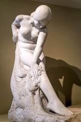 Harsh (BenBuildsLego) Tags: saam smithsonian american art museum beautiful marble sculpture sculptures statue sony skulptur sculptor nude female girl woman bather classical modern joseph e reiner