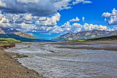 Toklat River (http://fineartamerica.com/profiles/robert-bales.ht) Tags: alaska denali fineart flickr forupload haybales people photo photouploads places river scenic stream travel nature rock outdoors water glacial landscape scene tourism beauty flow rushing meltwater icy mountain image cliff green park tundra drainage terminalface scenery waterfall scenics ravine spectacular dramatic powerful denalinationalpark ice snow valley alaskarange silt rocks glacialmilk bedrock robertbales kantishnariver tananavalley toklat toclat preserve