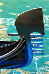Fero de prova 2 - the bow of the gondola 2 (Eugenio GV Costa) Tags: approvato prow iron ferro di prua venezia venice gondoliere gondola gondolier