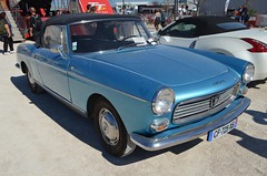 Peugeot 404 Injection Cabriolet (benoits15) Tags: peugeot 404 injection cabriolet convertible avignon motor festival