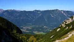 Garmisch-Partenkirchen - Valley View (cnmark) Tags: deutschland germany bayern bavaria garmischpartenkirchen hupfleite grainau valley mountains tal berge landscape landschaft alps alpen blue sky blauer himmel alpspitzbahn cablecar ©allrightsreserved